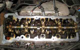 Замена прокладки клапанной крышки и ремонт гидро-натяжителя цепи ГРМ Ford Focus 1