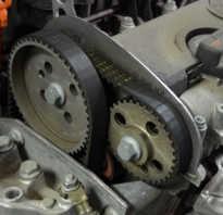 Замена цепи и ремня ГРМ на двигателях автомобилей Skoda Fabia