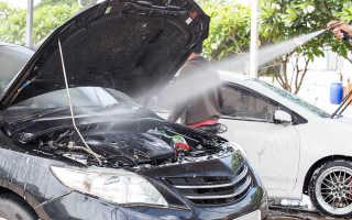 Чем очищать двигатель снаружи