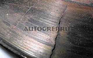Замена тормозного диска на ВАЗ 2107