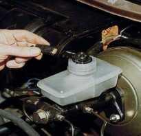 Замена главного тормозного цилиндра ВАЗ 2110