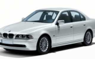 АККУМУЛЯТОР BMW 5 SERIES IV E39 СЕДАН