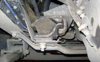 Что такое правая подушка двигателя