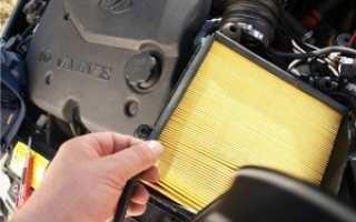 Воздушный фильтр ВАЗ-2110 – так ли сложно его поменять