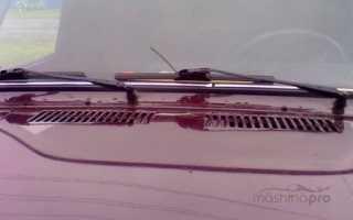 Определение причин неисправности стеклоочистителя на автомобиле ВАЗ