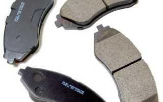 Как заменить передние тормозные колодки Дэу Нексия