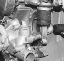 Замена помпы (водяного насоса) системы охлаждения УАЗ Патриот