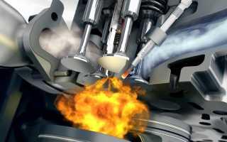 Бензиновый двигатель принцип его работы