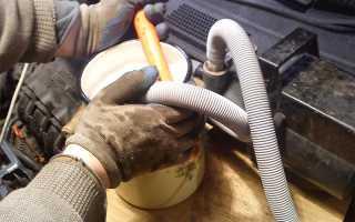 Чем промыть радиатор печки автомобиля
