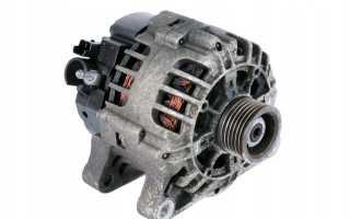 Замена генератора Peugeot 206