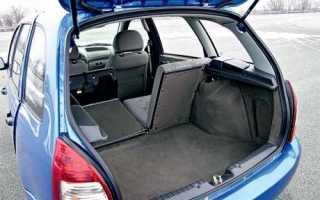 Объем багажника у Лады Калины универсал