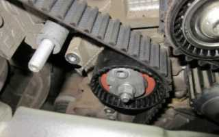 Замена ремня ГРМ на бензиновом двигателе К4М 1,6 литра