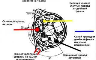 Генератор в 406 двигателе причины