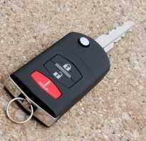 Как заменить батарейку в брелке ключа Мазда