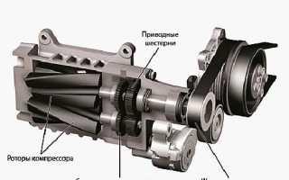 Что такое компрессорный нагнетатель двигателя