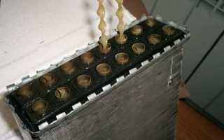 Как промыть радиатор печки ВАЗ-2109