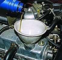 Замена масла в двигателе автомобиля ВАЗ-2113, 2114, 2115