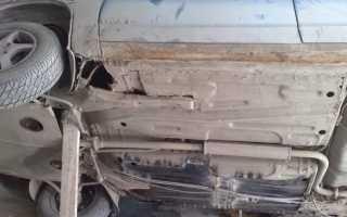 Самостоятельный ремонт днища кузова на автомобиле ВАЗ-2110