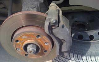 Замена колодок на Peugeot 206