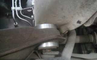 Замена сайлент-блоков подрамника и рычагов на Audi 80 B3 89