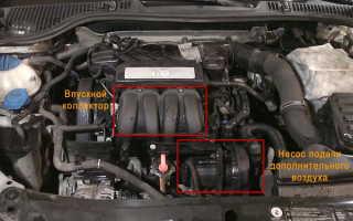 Замена свечей зажигания на Шкода Октавия А5 двигатель 1