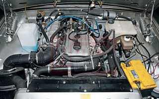 Большое давление масла в двигателе газелей