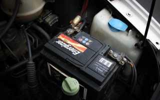 Замена аккумулятора на Peugeot 408