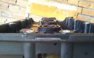 Устранение течи из-под клапанной крышки Chevrolet Lacetti