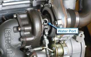 Что охлаждает турбину в двигателе
