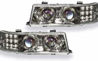 Блок фары на ВАЗ 2110: какие лампы стоят в них