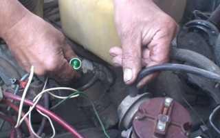 Установка момента зажигания на ВАЗ 2101-ВАЗ 2107