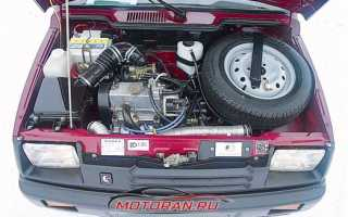 Ваз 1111 ока двигатель схема