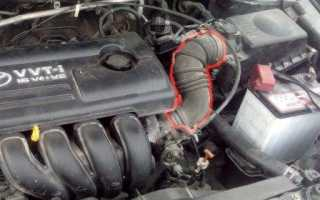Двигателе 1zz стук при заводке