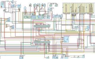 Электрическая схема для двигателя умз 4216
