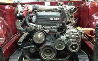 Двигатель 1g gze троит