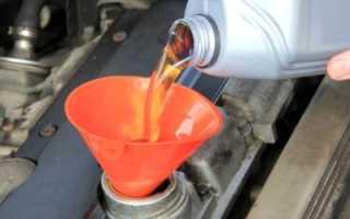 Как поменять масло в двигателе Рено Логан