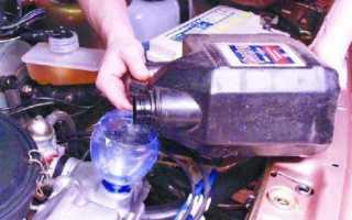 Двигатель ВАЗ 21099: замена масла и масляного фильтра