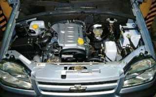 Шевроле Нива с двигателем Opel