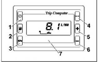 Инструкция на штатный бортовой компьютер ВАЗ 2110 2111 2112