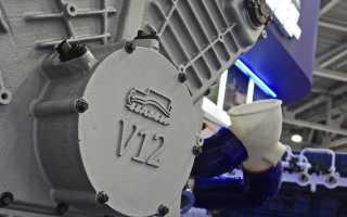 Двигатель v12 сколько клапанов