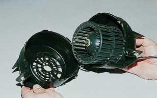 Замена моторчика печки на ВАЗ 2114