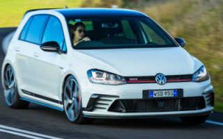 Volkswagen golf gti характеристики двигателя