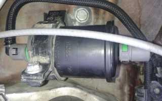 Меняем топливный фильтр на Рено Дастер