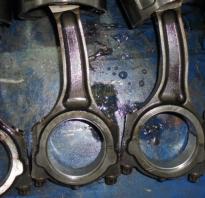 Что такое шатуны двигателя