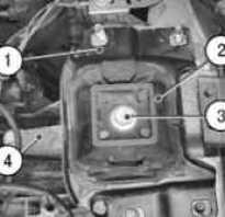 Замена левой опоры двигателя Ford focus 2 и 3