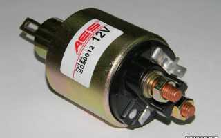 Замена втягивающего реле стартера на ВАЗ 2114