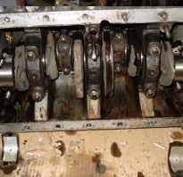 Двигатель 402 как собрать коленвал