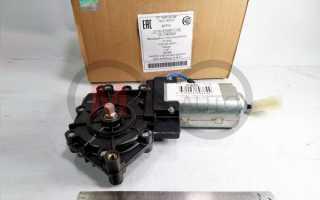 Электродвигатель (мотор) стеклоподъемника ВАЗ 2110 левый КЗАЭ (Калуга)