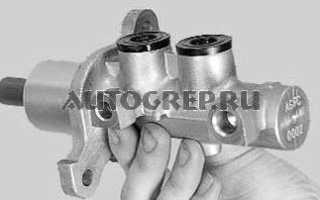 Ремонт главного тормозного цилиндра ВАЗ 2110