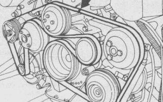 Проверка и замена ремня ГРМ Mercedes W210